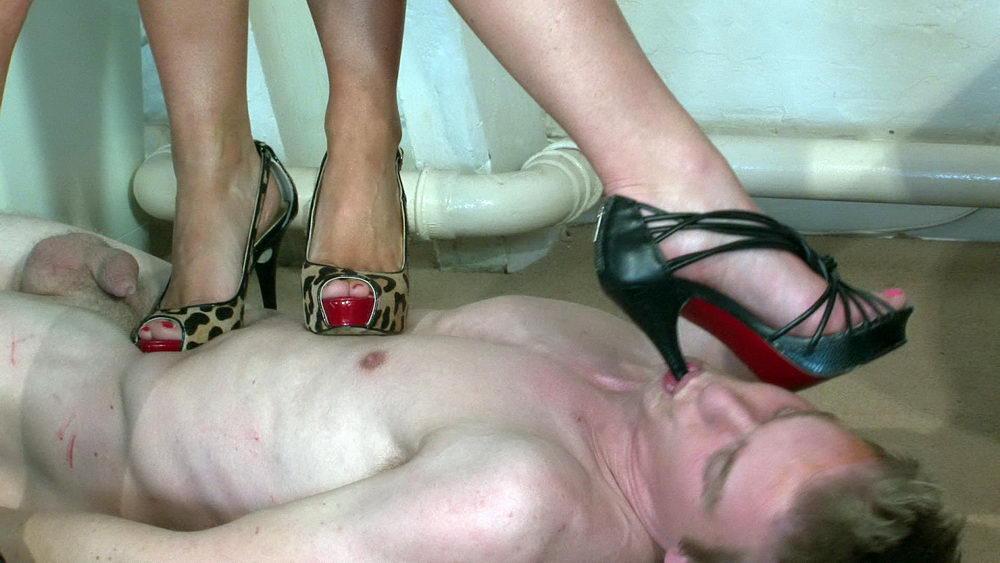 Submissive husband foot fetish